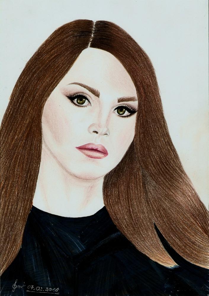 Lana Del Rey by DreamBelieveFight